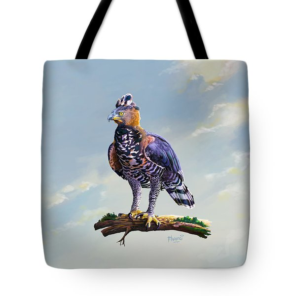 African Crowned Eagle  Tote Bag