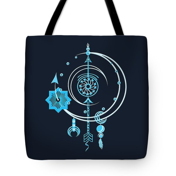 Blue Point Tote Bag