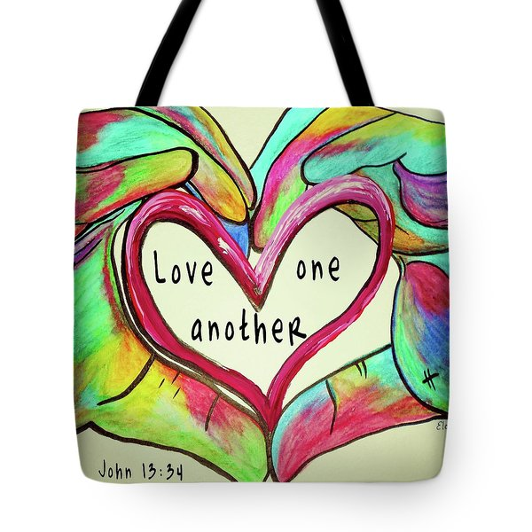 Love One Another John 13 34 Tote Bag