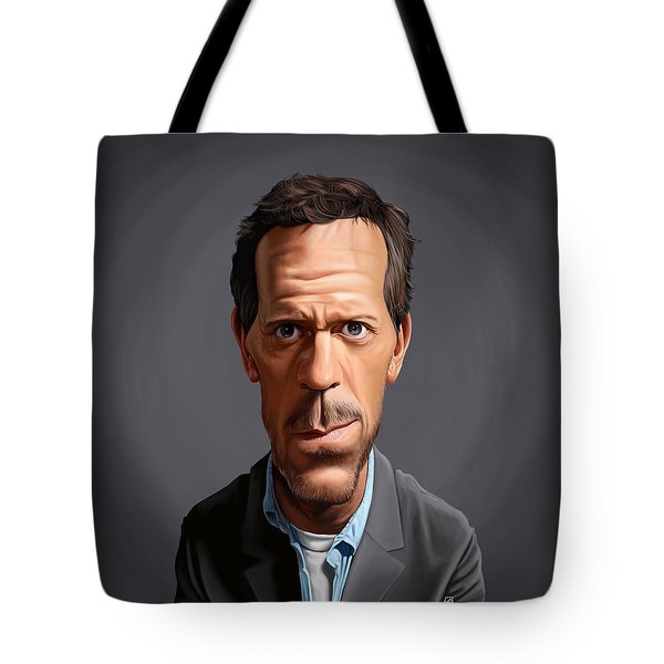 Celebrity Sunday - Hugh Laurie Tote Bag