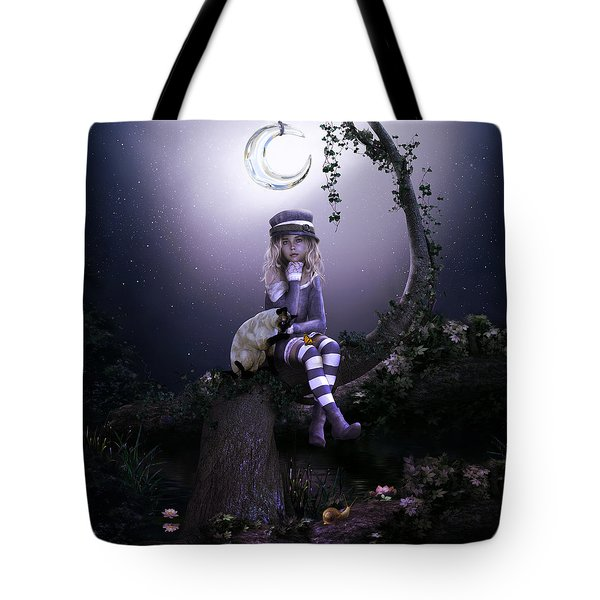 Tote Bag featuring the digital art Busy Doing Nothing by Shanina Conway