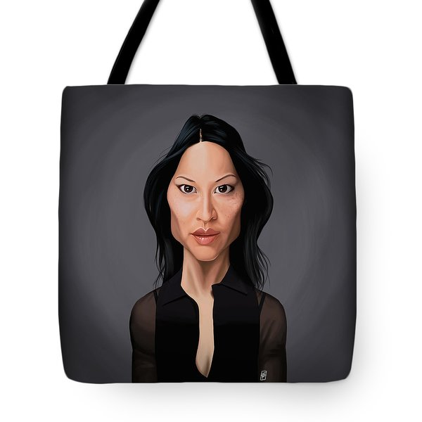 Celebrity Sunday - Lucy Liu Tote Bag