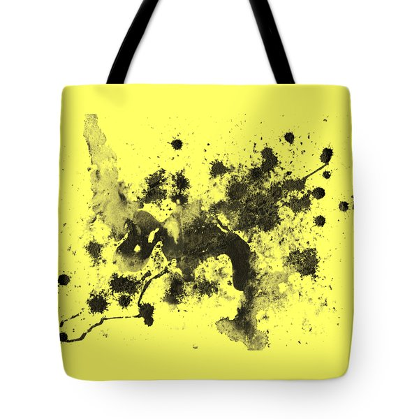 Tote Bag featuring the painting Splartch by Marc Philippe Joly