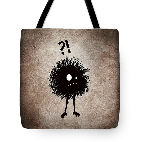 Gothic Wondering Evil Bug Character Tote Bag