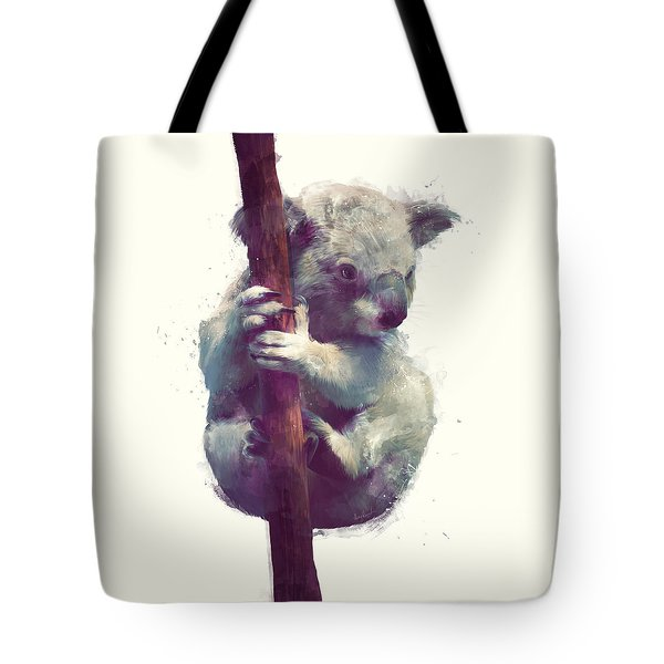 Koala Tote Bag by Amy Hamilton