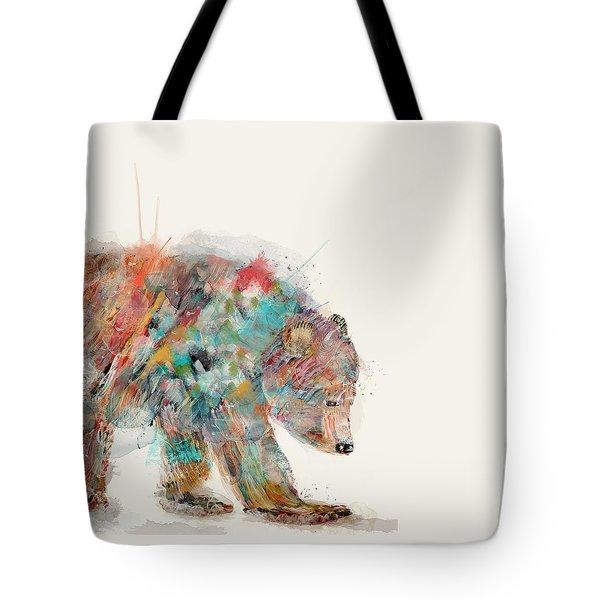 In Nature Bear Tote Bag