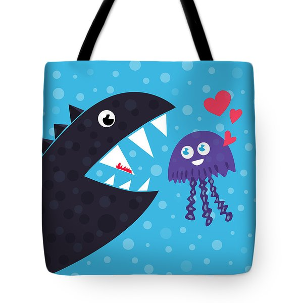Impossible Love Tote Bag