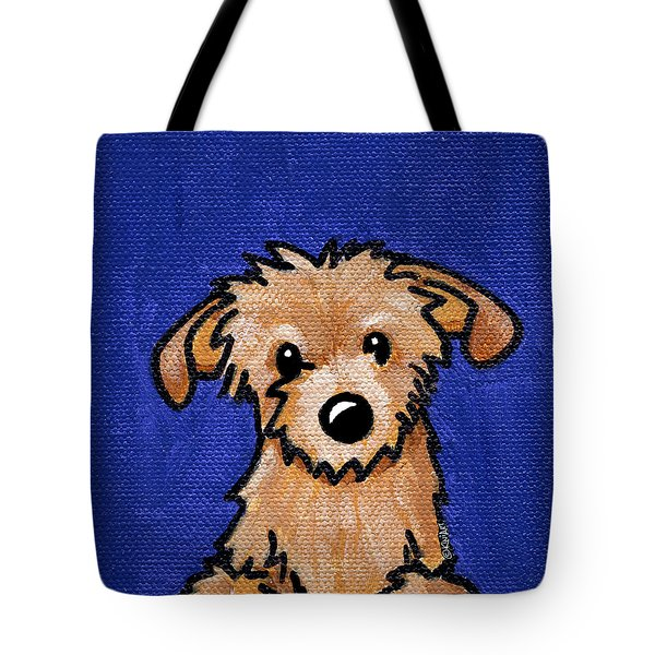 Kiniart Portrait Bingo Tote Bag