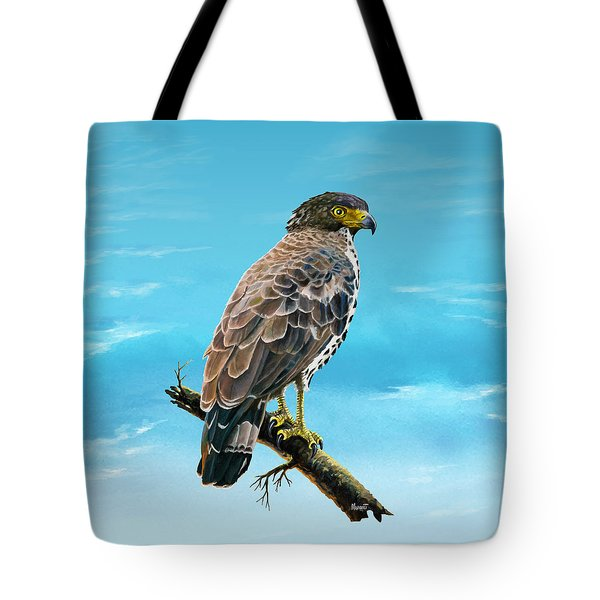 Congo Serpent Eagle Tote Bag
