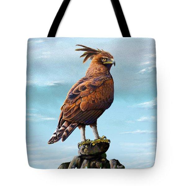 Long Crested Eagle Tote Bag