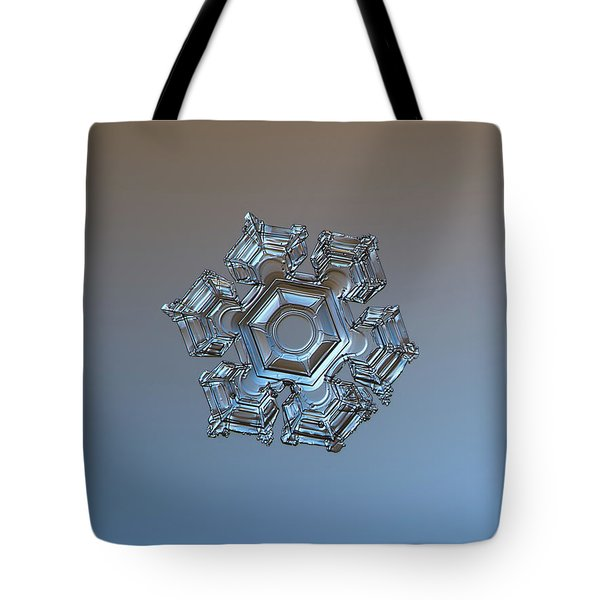 Snowflake Photo - Cold Metal Tote Bag
