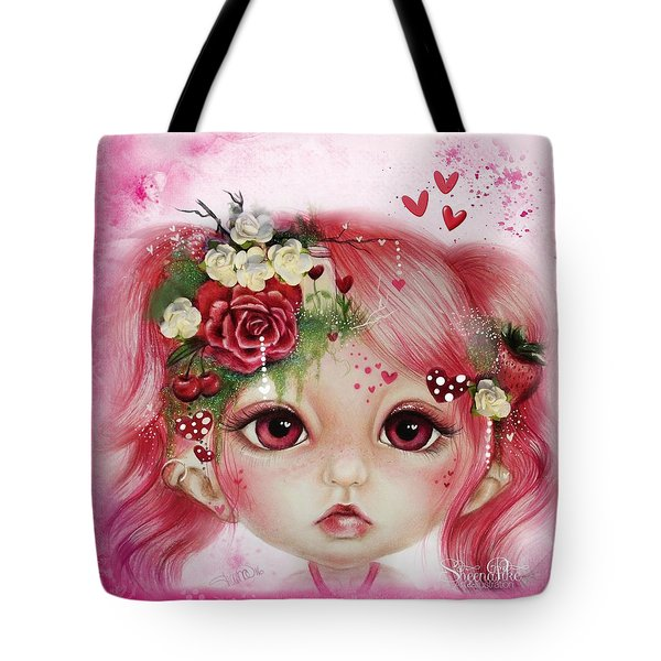 Rosie Valentine - Munchkinz Collection  Tote Bag by Sheena Pike