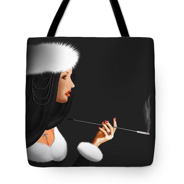 Lady Ninotschka Tote Bag by Monika Juengling