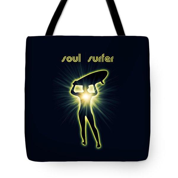Soul Surfer Tote Bag by Mark Ashkenazi