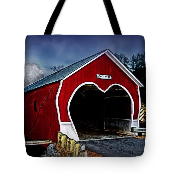 Tote Bag featuring the photograph Love Is In The Air by DJ Florek