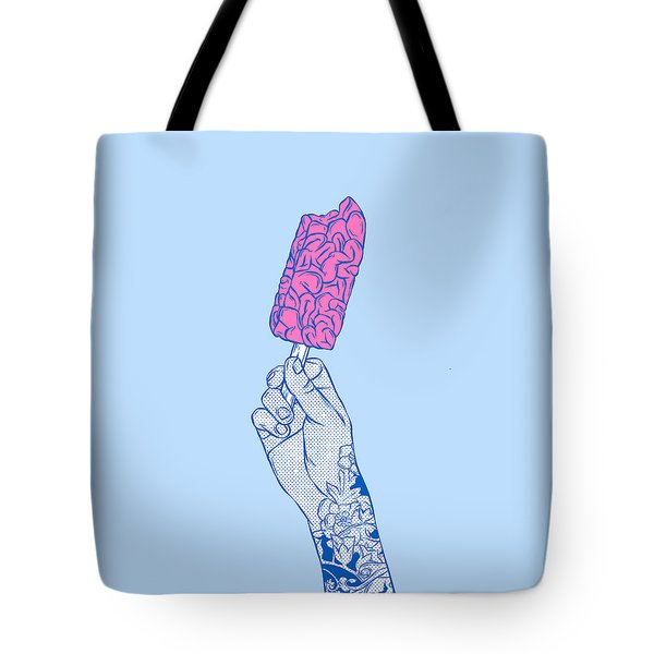 Brain Ice Cream Mmmmm Tote Bag