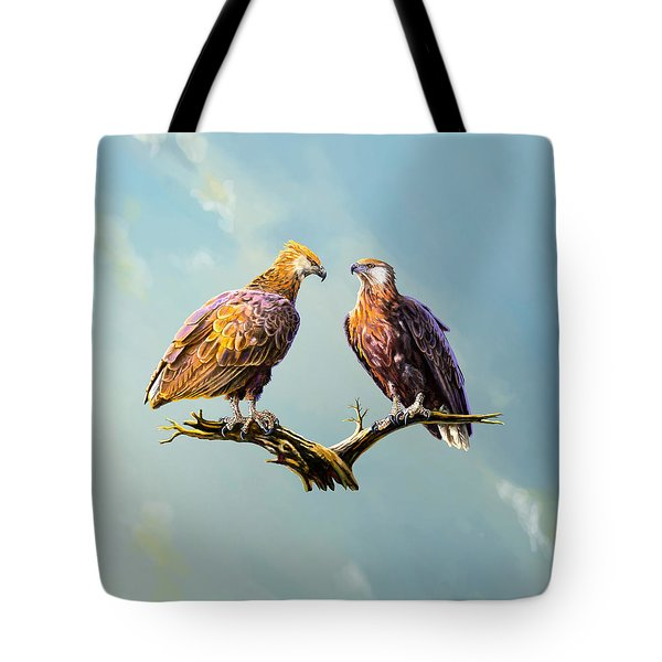 Madagascar Fish Eagle  Tote Bag