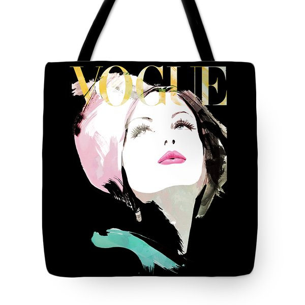 Vogue 3 Tote Bag