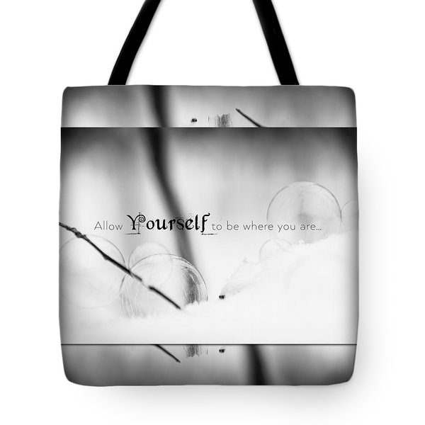 Yourself Tote Bag