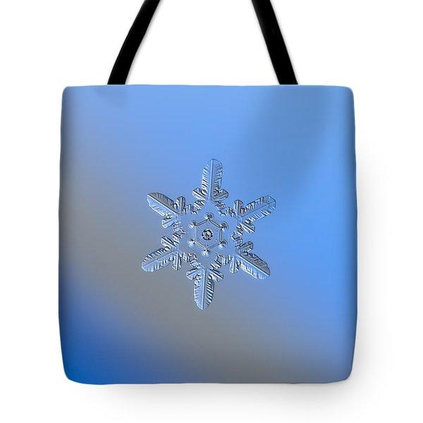 Snowflake Photo - Heart-powered Star Alternate Tote Bag by Alexey Kljatov