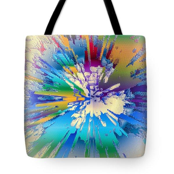 Coloratura Soprano Tote Bag by Moustafa Al Hatter