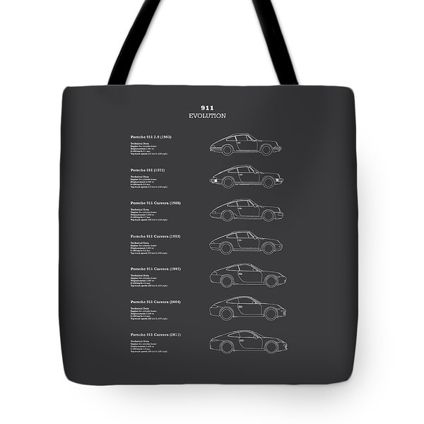911 Evolution Tote Bag