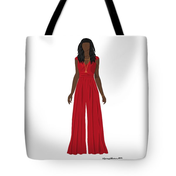 Tote Bag featuring the digital art Destiny by Nancy Levan