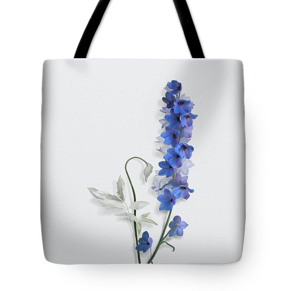 Tote Bag featuring the painting Consolida by Ivana Westin