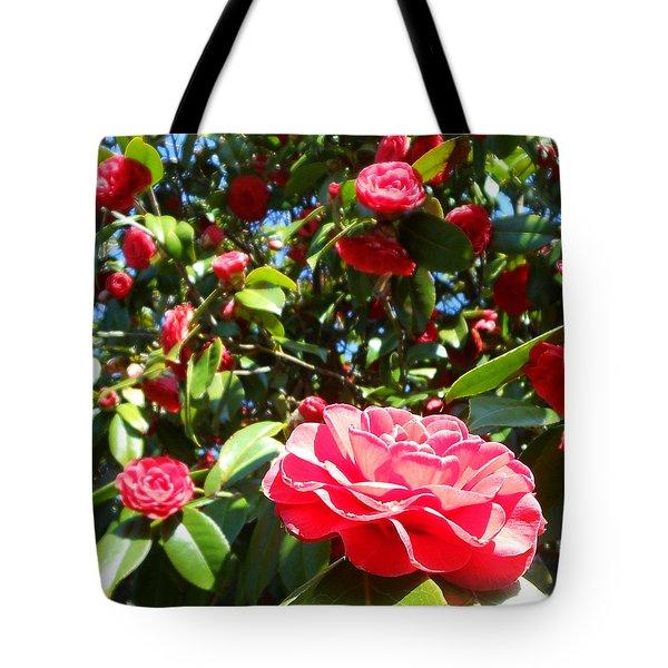 Uncommon Camellias Tote Bag