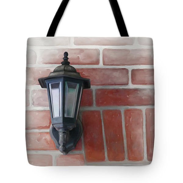 Tote Bag featuring the painting Lantern by Ivana Westin