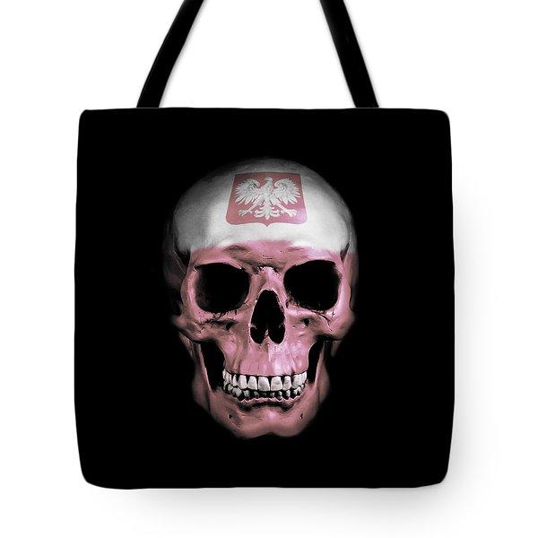 Polish Skull Tote Bag