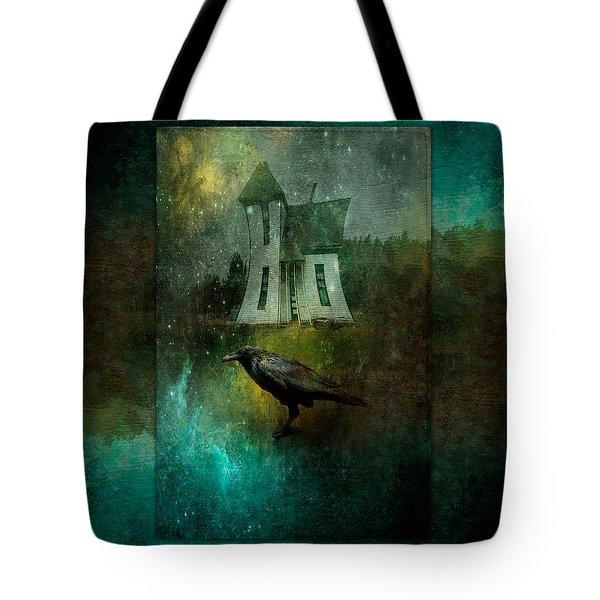 Crow House Tote Bag