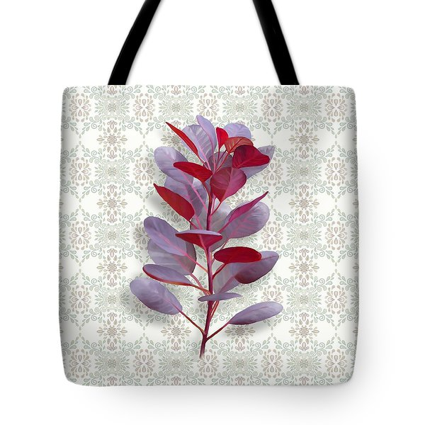 Royal Purple Tote Bag by Ivana Westin