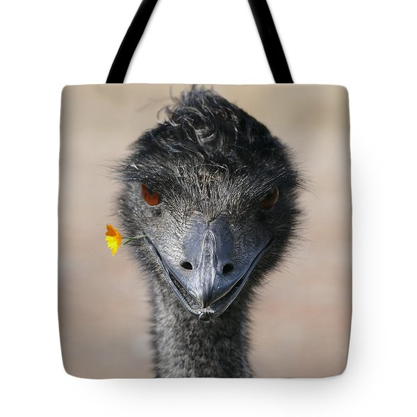 Happy Emu Tote Bag