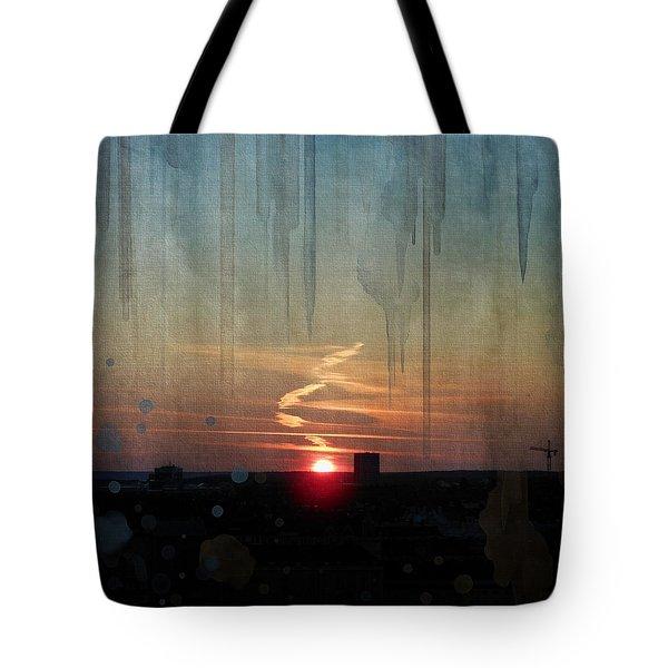 Urban Sunrise Tote Bag