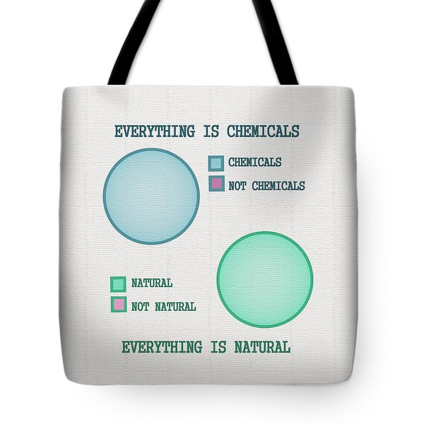 Tote Bag featuring the digital art Everything Is by Ivana Westin