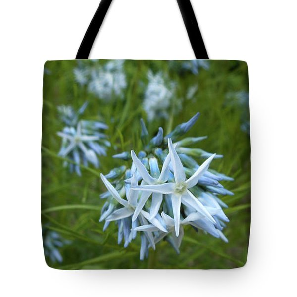 Star-spangled Flowers Tote Bag