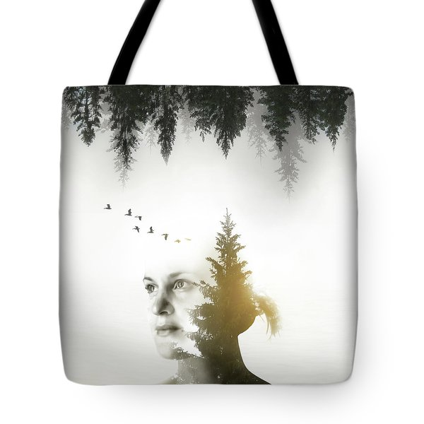Soul Of Nature Tote Bag
