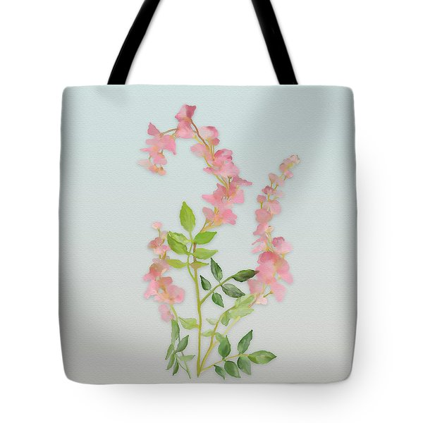 Pink Tiny Flowers Tote Bag by Ivana Westin