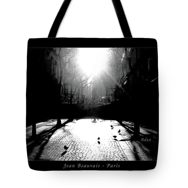 Jean Beauvais Paris Tote Bag by Felipe Adan Lerma
