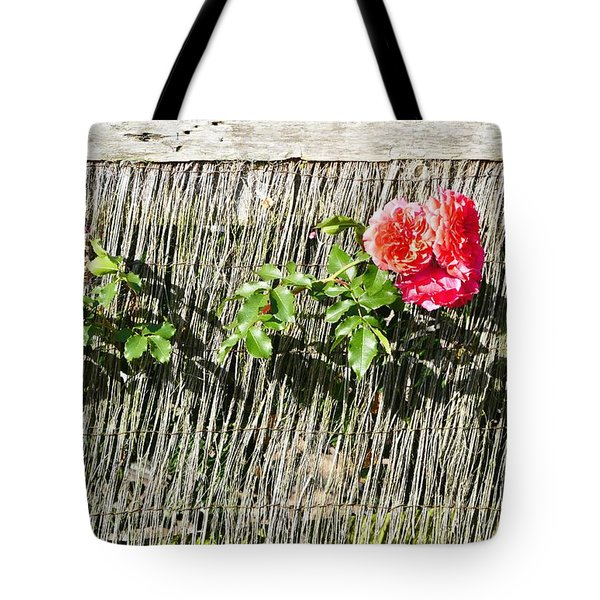 Floral Escape Tote Bag by Ivana Westin