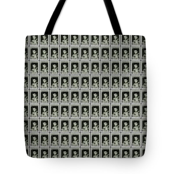 Cassius Clay World Champion Stamp Tote Bag