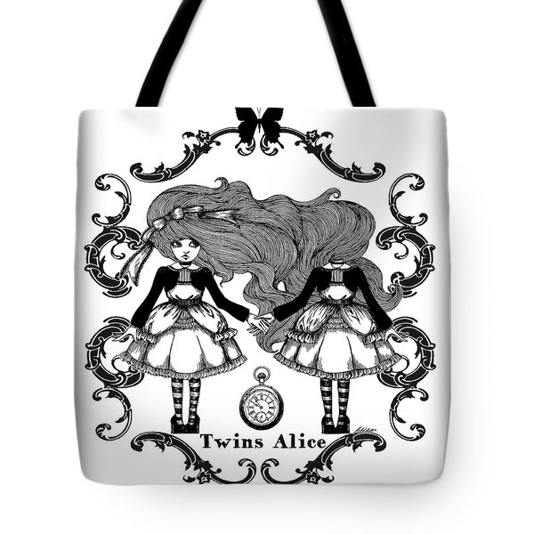 Twins Alice Tote Bag