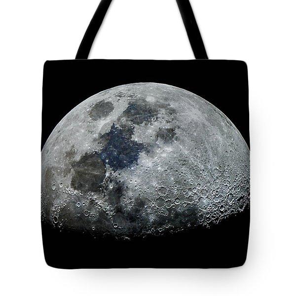 Color Moon Tote Bag