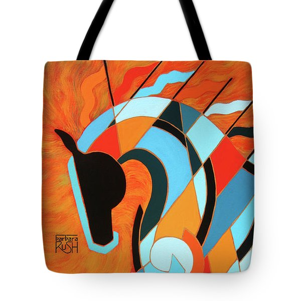 Sundancer Of The Fire II Tote Bag