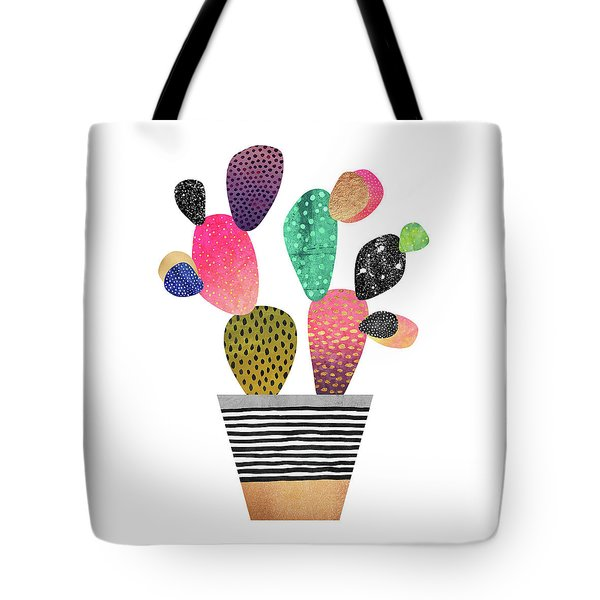 Happy Cactus Tote Bag