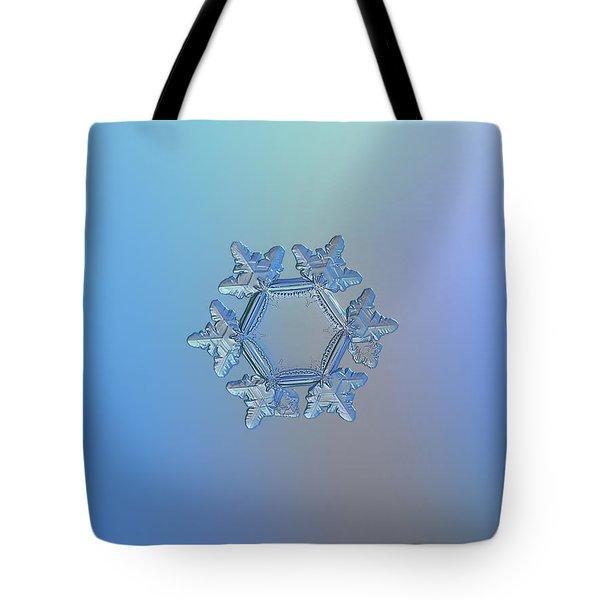 Snowflake Photo - Sunflower Tote Bag