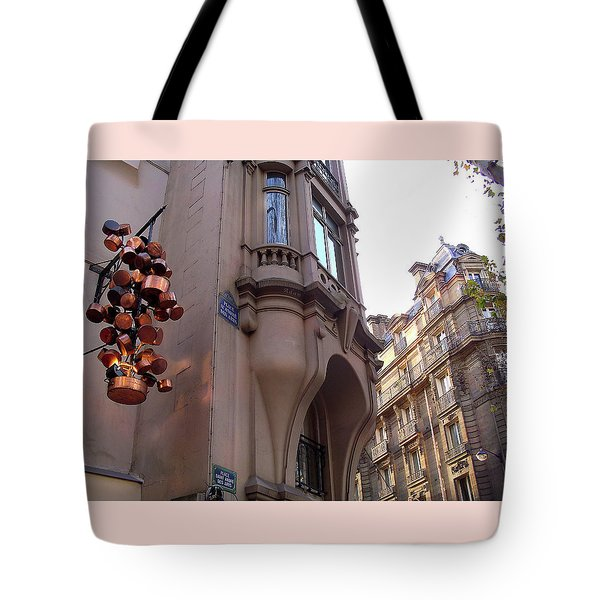 Angles And Details At Place Saint Andre Des Arts Tote Bag