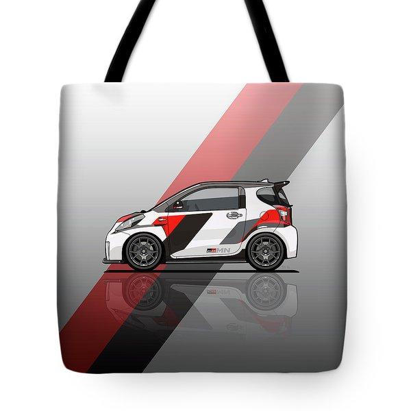 Toyota Scion Grmn Iq Racing Concept Tote Bag