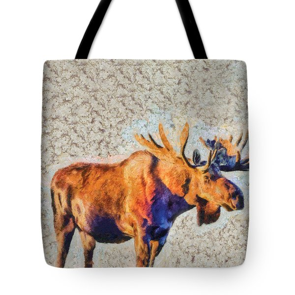 One Handsome Moose Tote Bag